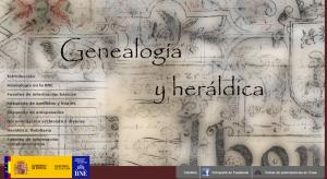 Genealogía y Heráldica. Biblioteca Nacional de España